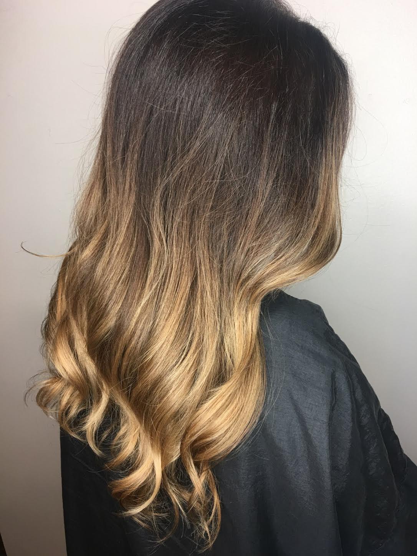 Christina Childress Highland Village Hairstylist Brunette Golden Balayage