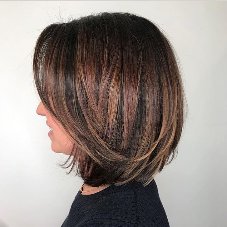 Balayage Bob Highland Village Texas