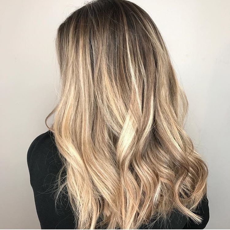Lived-In Blonde Balayage