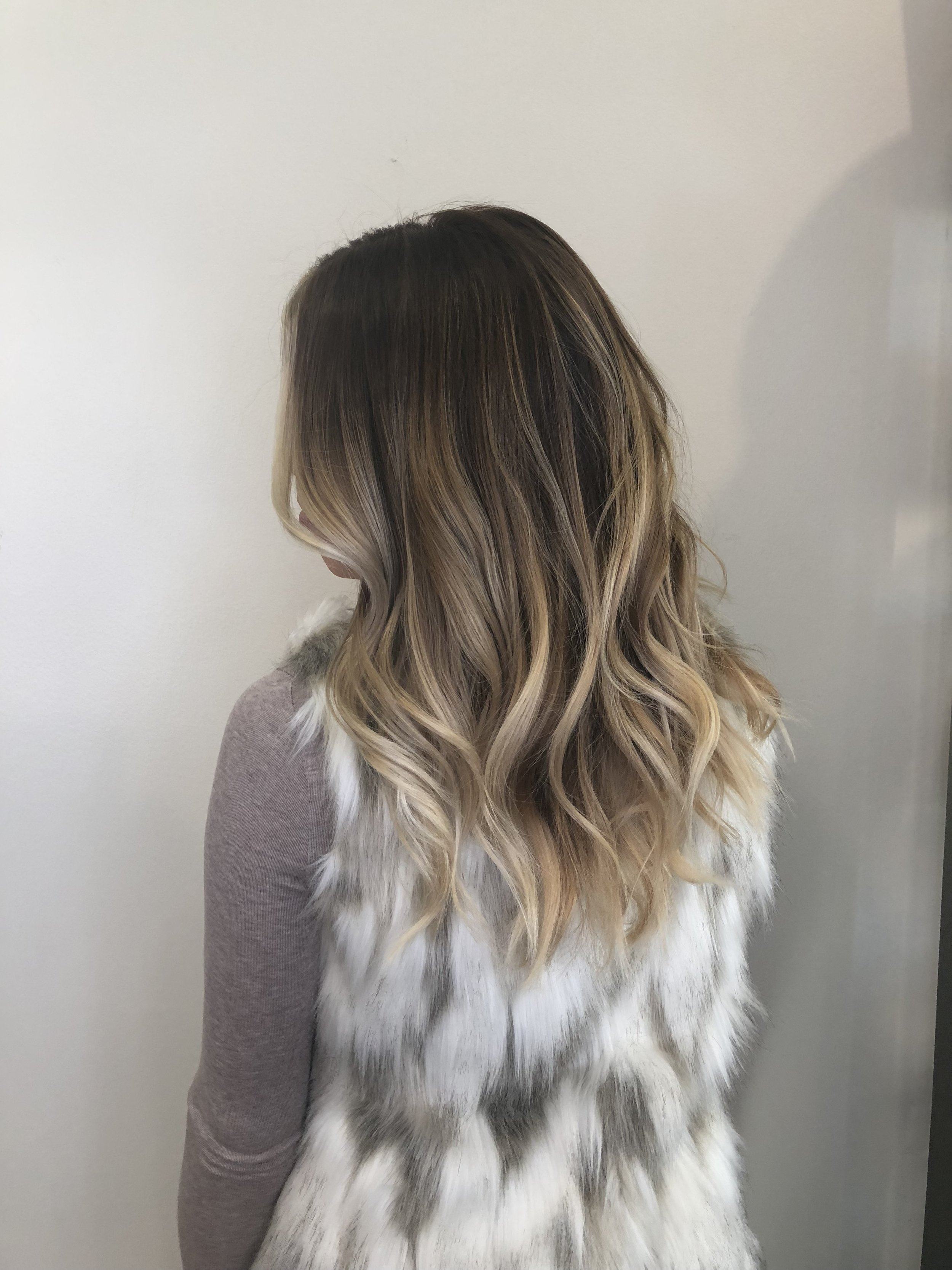 Balayage Hair Color Highland Village TX