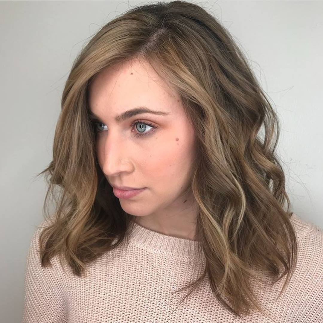 Partial Highlights Hair Color