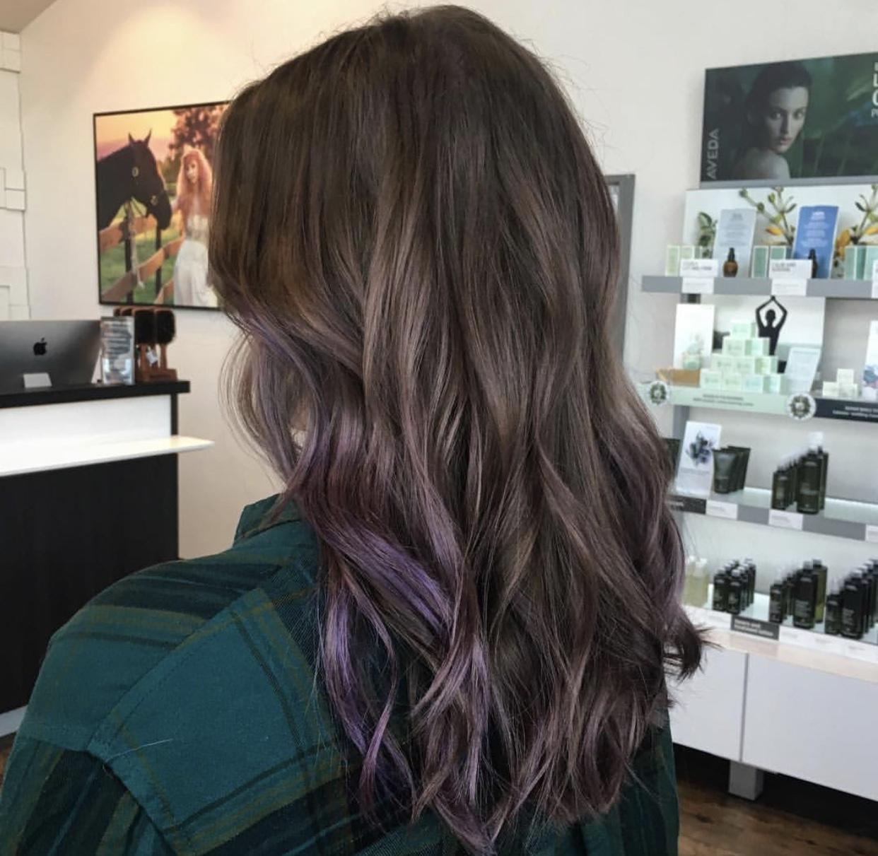 ultra violet purple hair color