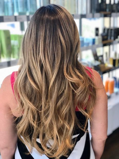Blonde Haircolor Dallas TX