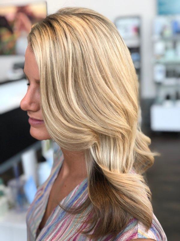 Blonde Highlights Dallas