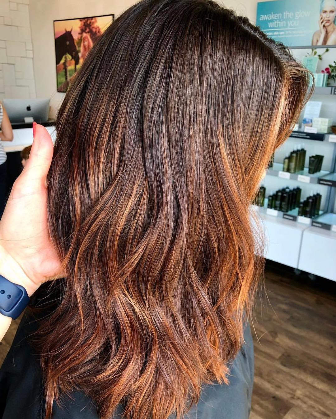 Copper Hair Color by Madelyn at Tangerine Salon Dallas