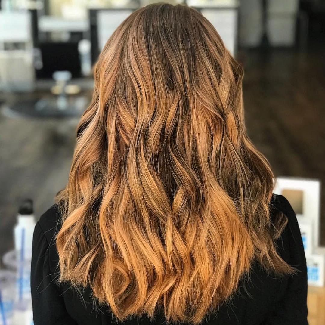 Copper Hair Color by Tobie at Tangerine Salon Dallas