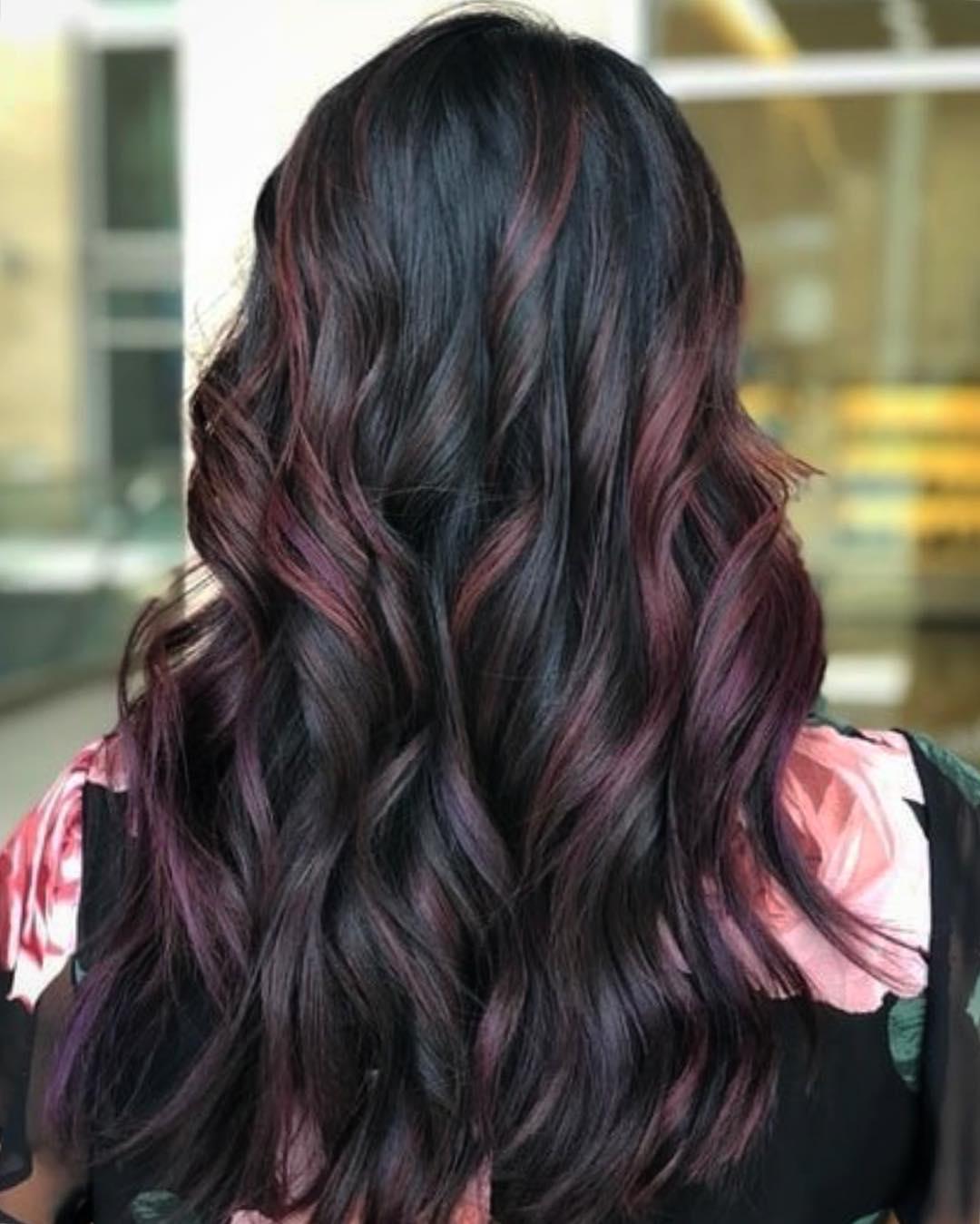 Mauve Hair Color by Destiny at Tangerine Salon Frisco