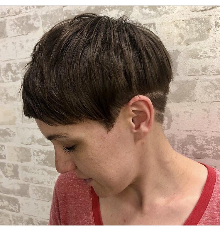 Pixie Haircut Frisco Texas Etching