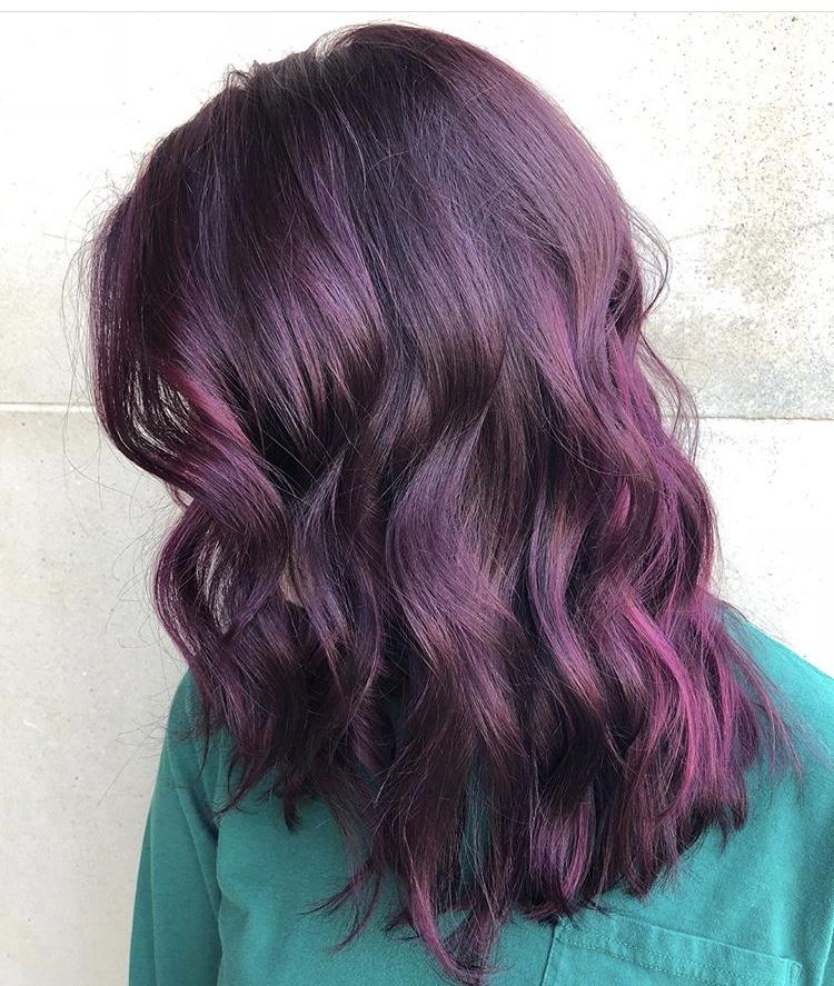 Burgundy Hair Color Frisco TX
