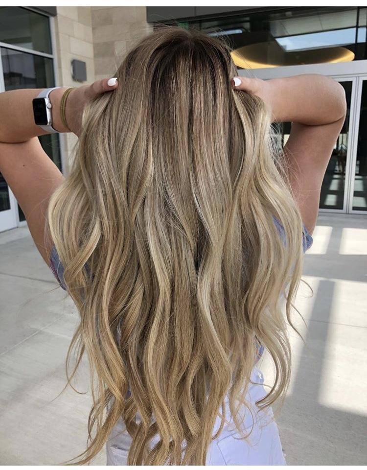Blonde Hair Color Frisco