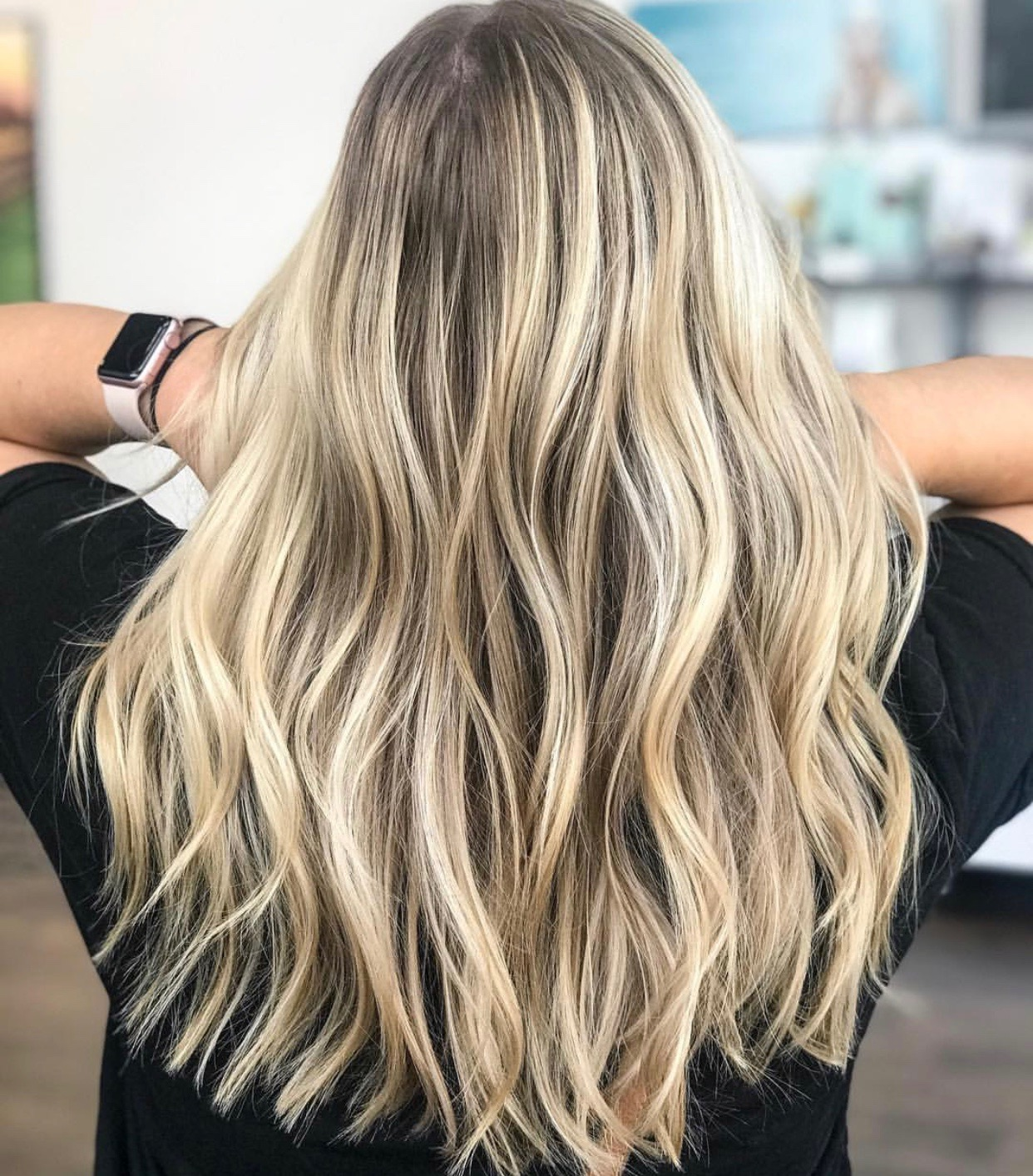 Blonde Balayage Dallas Preston Hollow