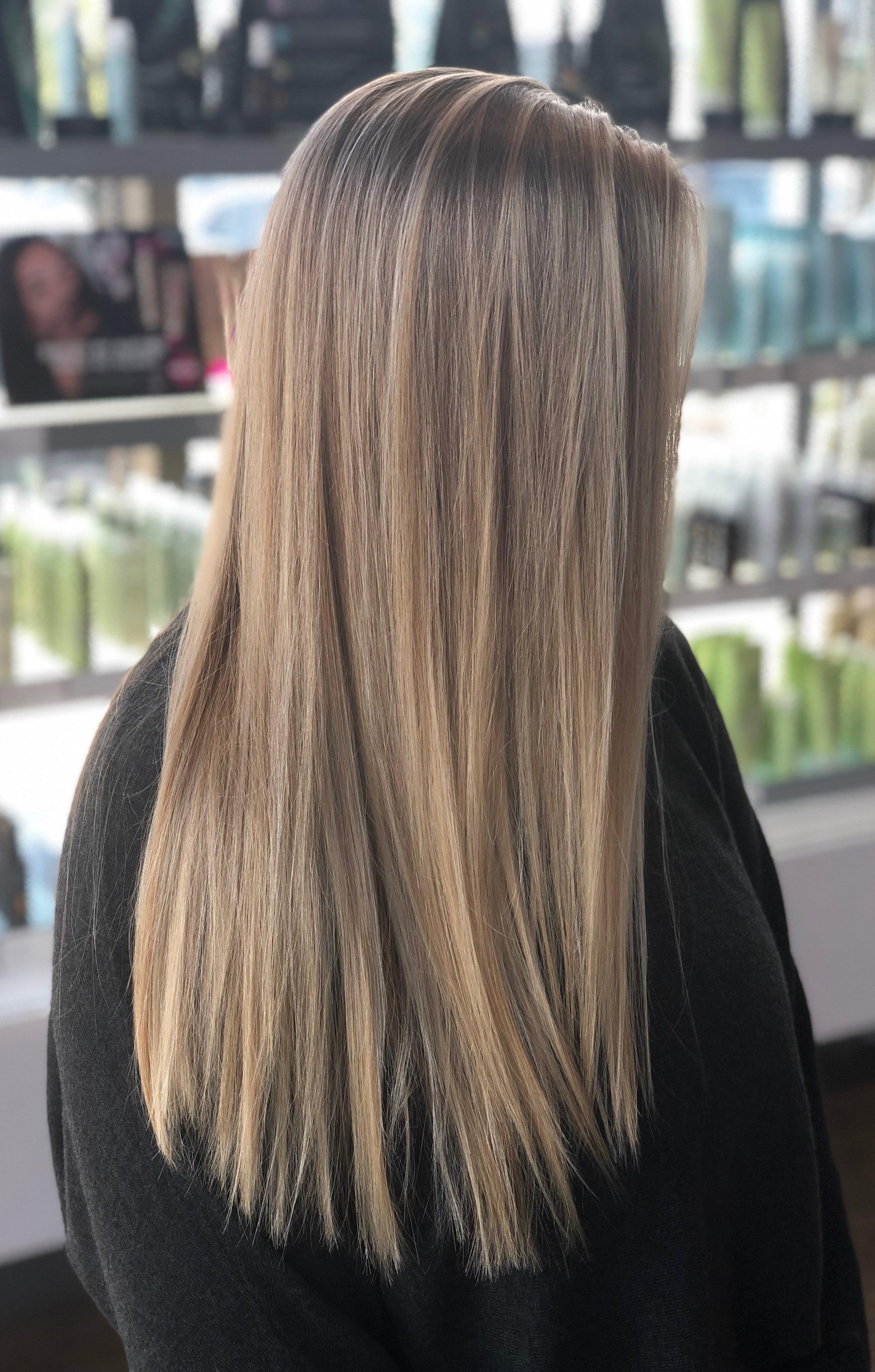 Beige Hair Color Dallas Texas