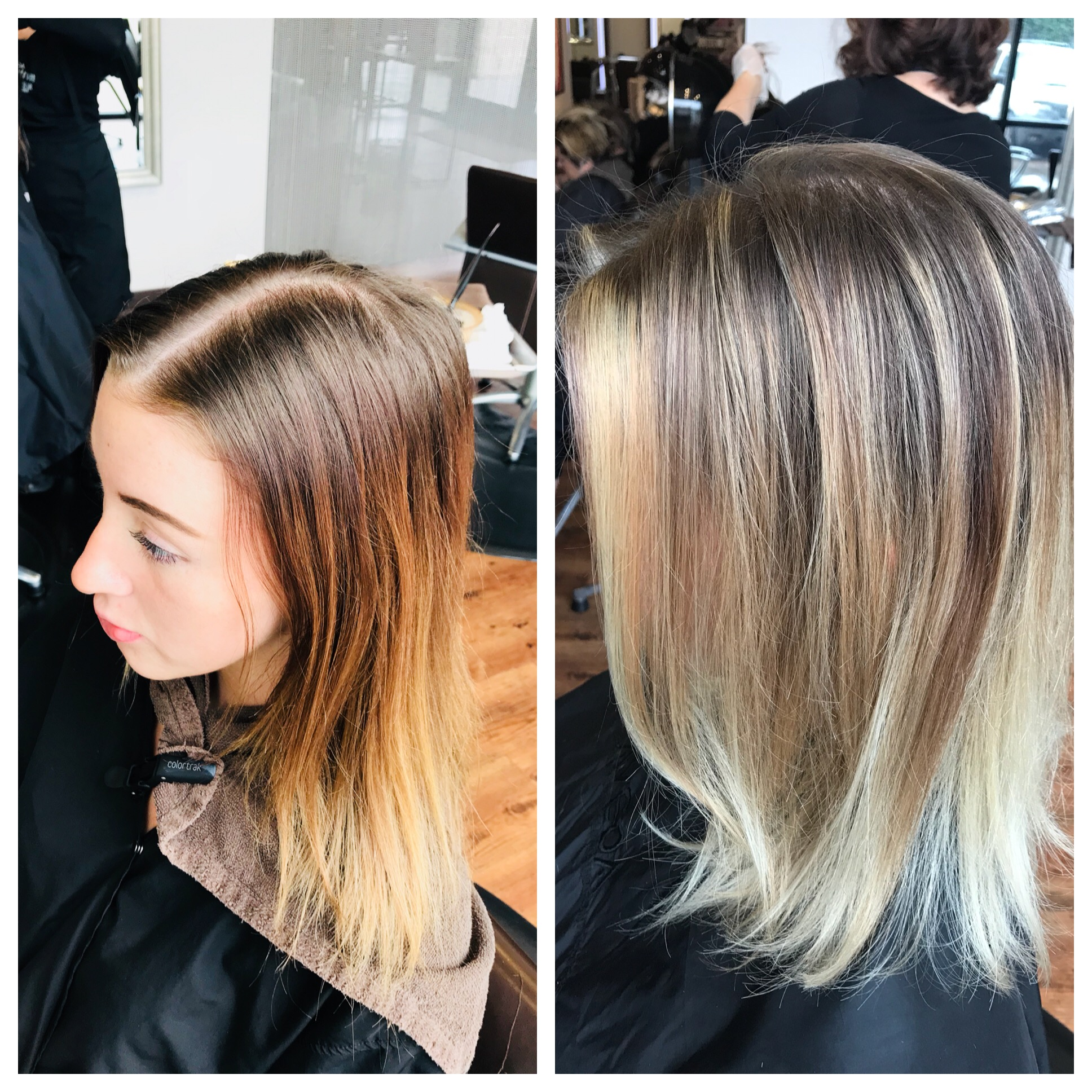 Will Peck Coppell Stylist Transformation Highlights