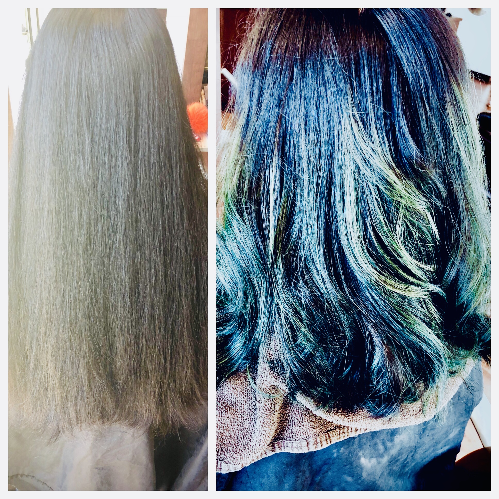 Will Peck Coppell Stylist Blue Hair Color Vibrant Fashion Vivid