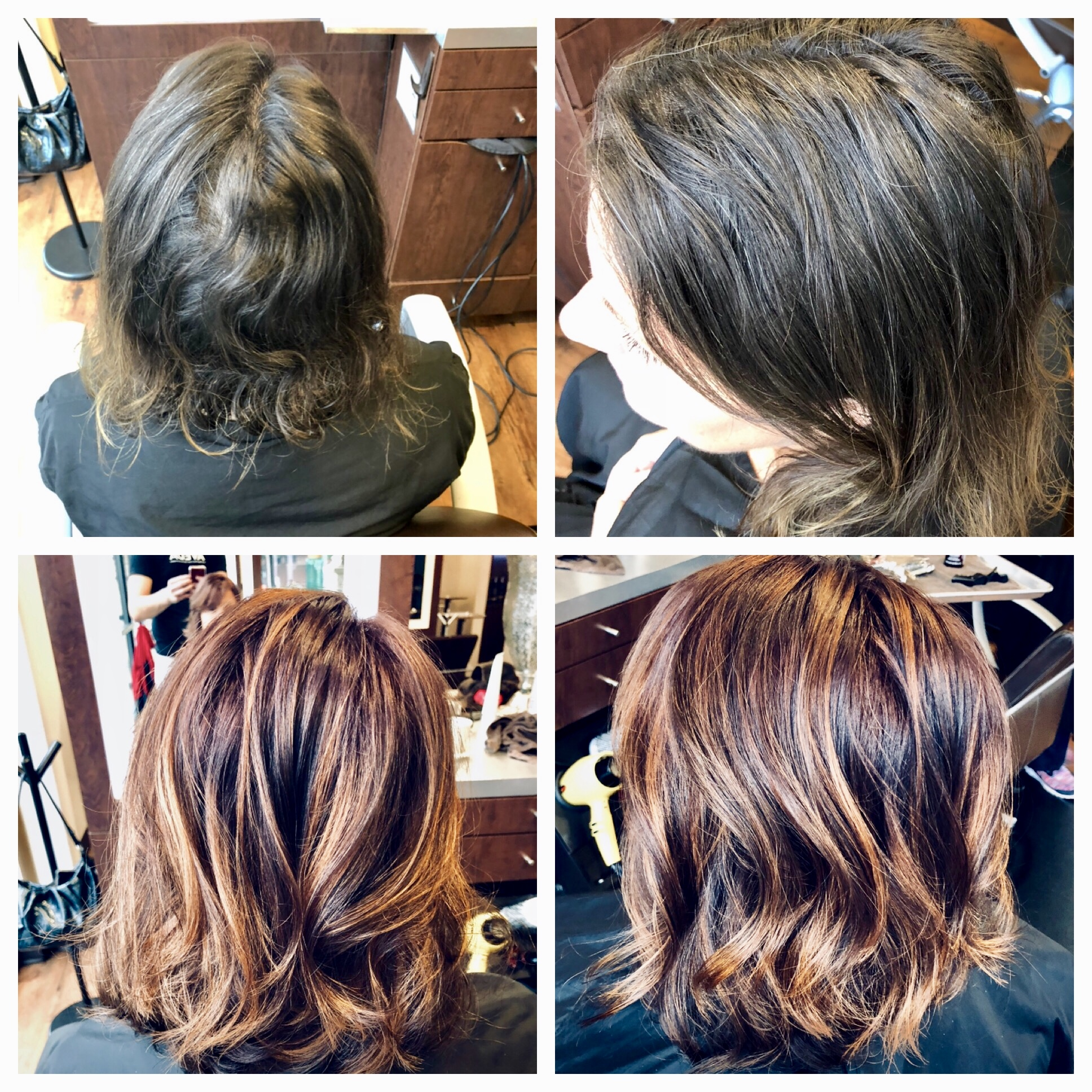 Will Peck Coppell Stylist Red Transformation