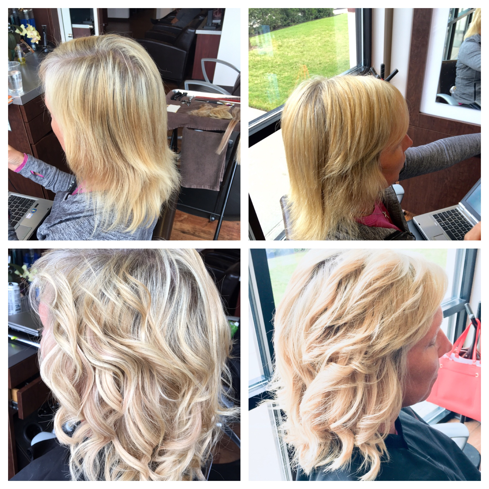 Will Peck Coppell Stylist Blonde Transformation