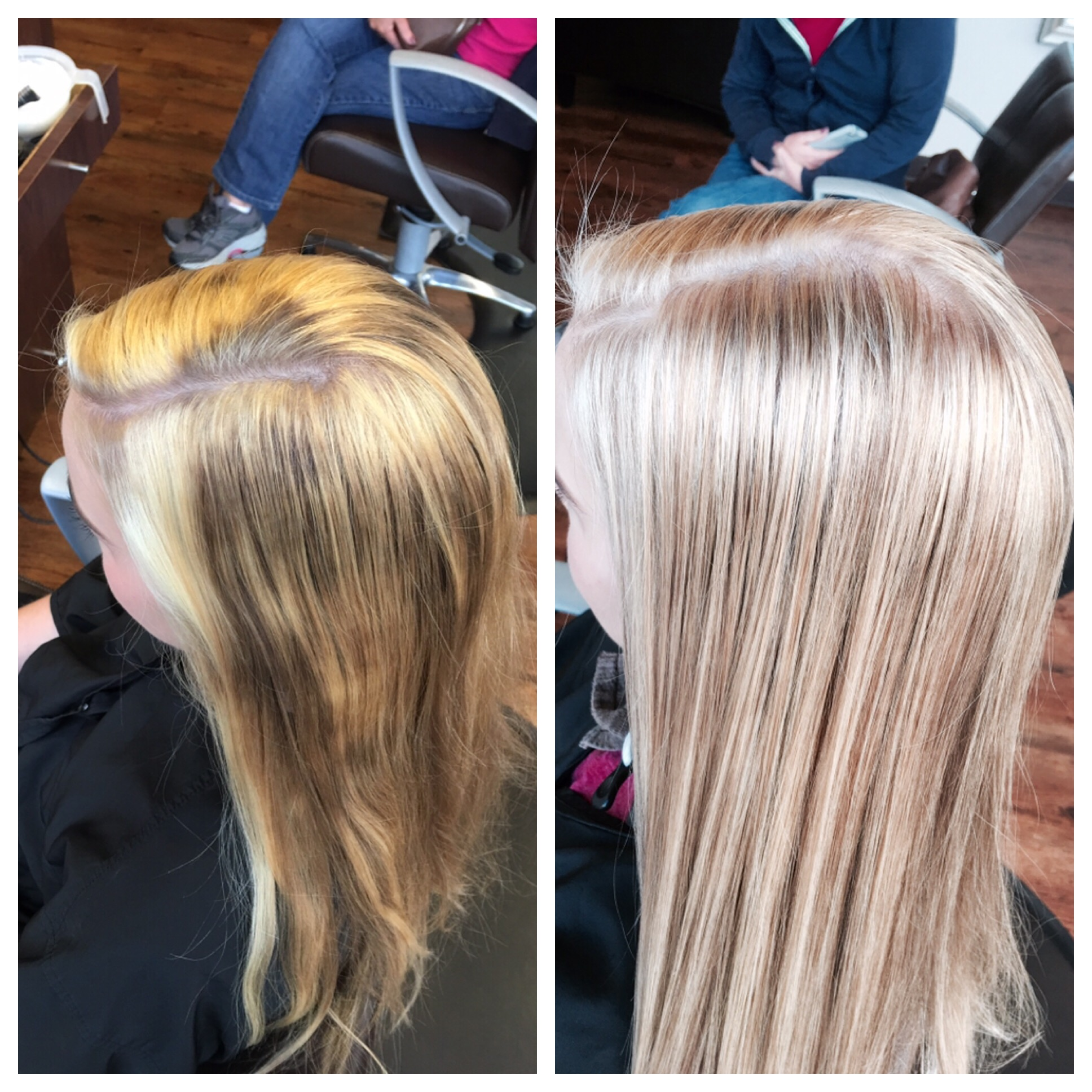 Will Peck Coppell Stylist Color Correction Blonde