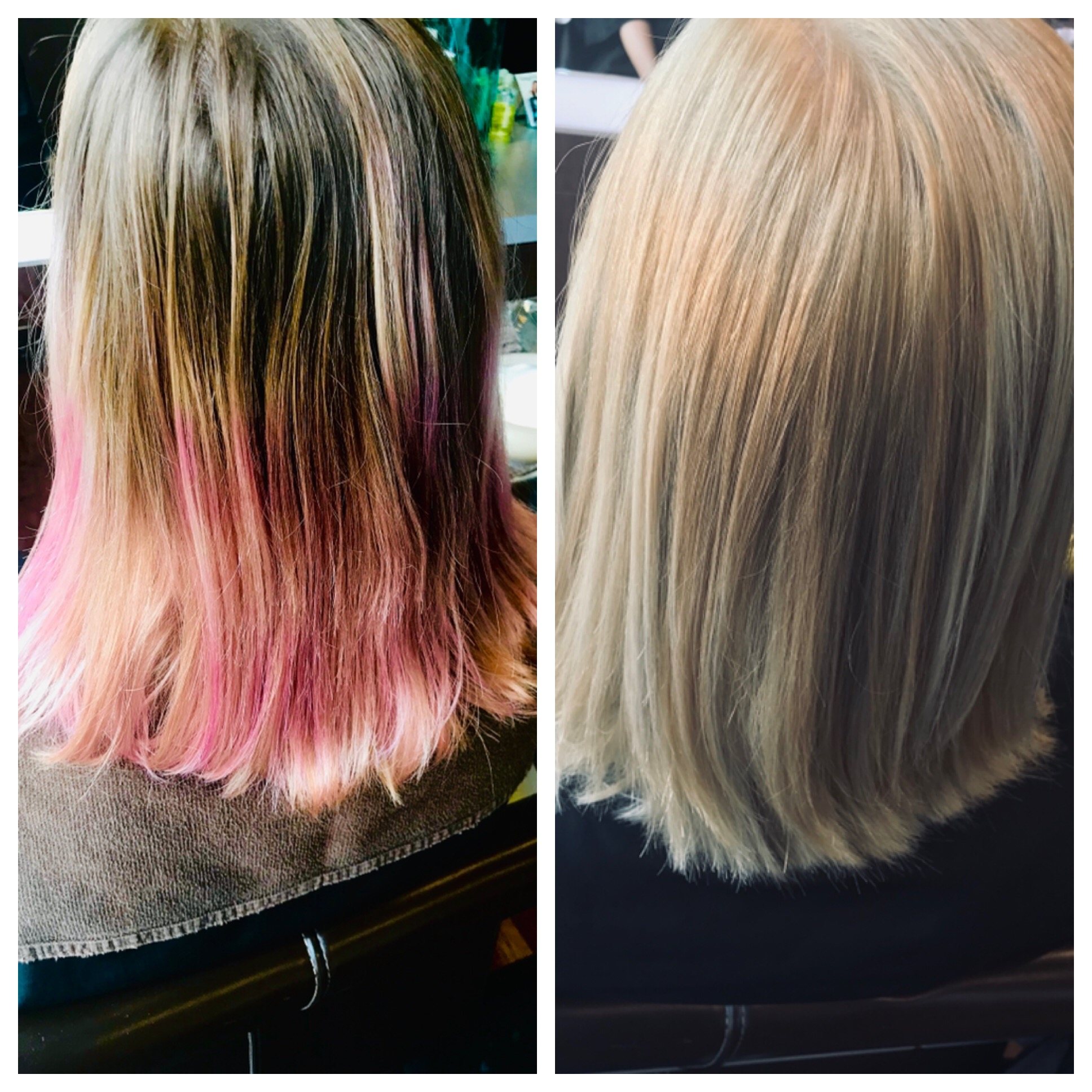 Will Peck Coppell Stylist Color Correction