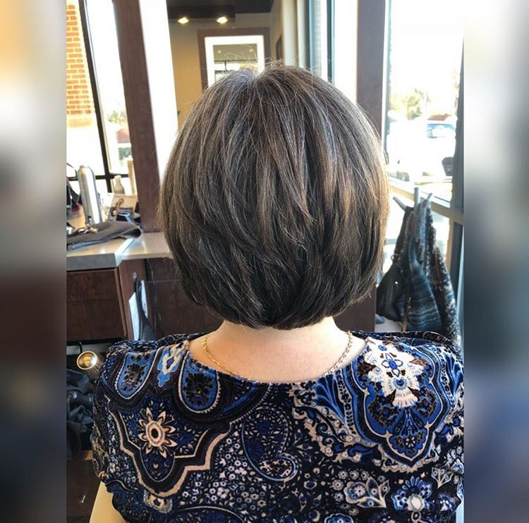 Lexy Hernandez Coppell Hairstylist Highlights Bob