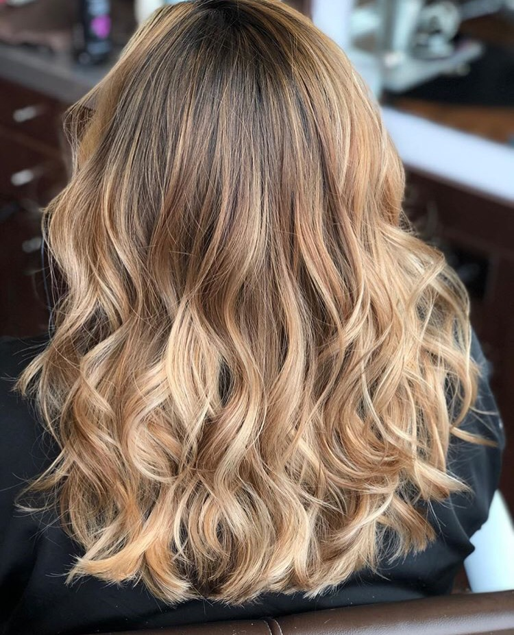 Lexy Hernandez Coppell Hairstylist Golden Balayage
