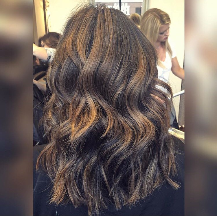 Lexy Hernandez Coppell Hairstylist Caramel Highlights