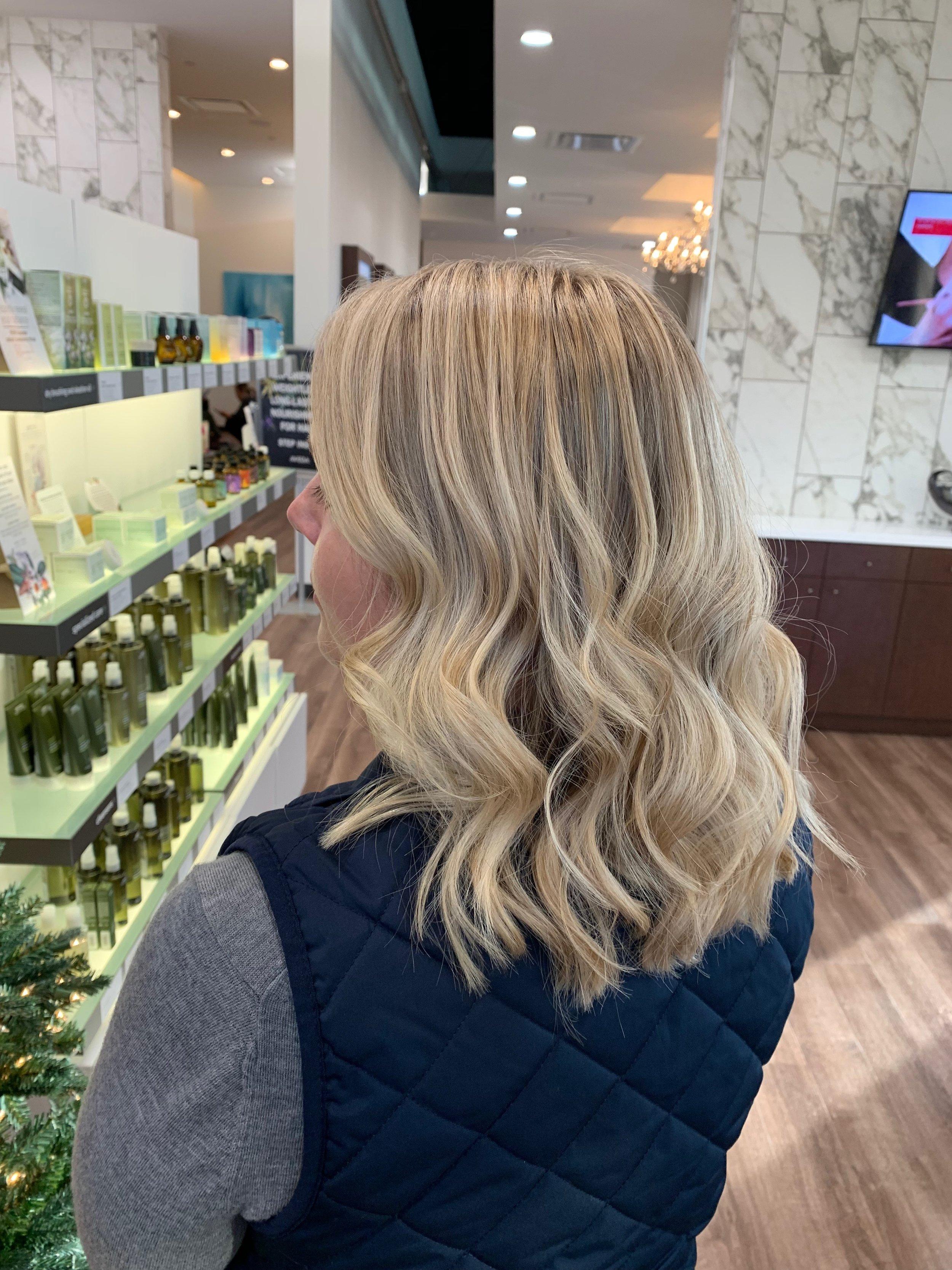 Terron Harrison Highland Village Hairstylist Blonde Highlights