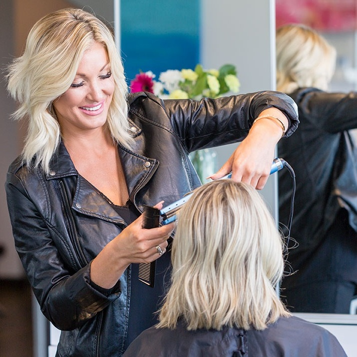Find your Match - Use Our Matchmaker Feature to Find the Right Stylist for You, or Simply Call or Text to Book Now