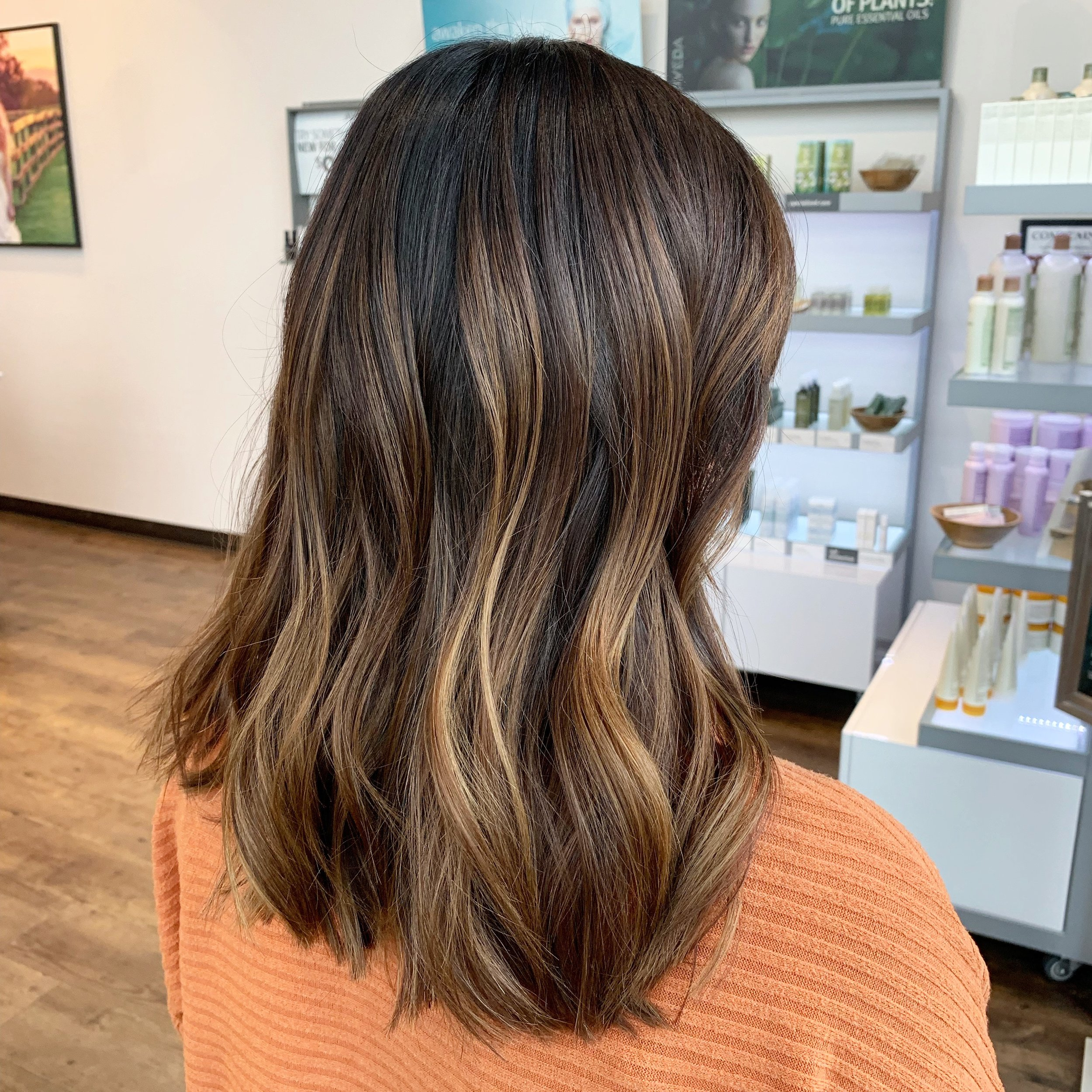 Madelyn Lindley Dallas Hairstylist Caramel Balayage