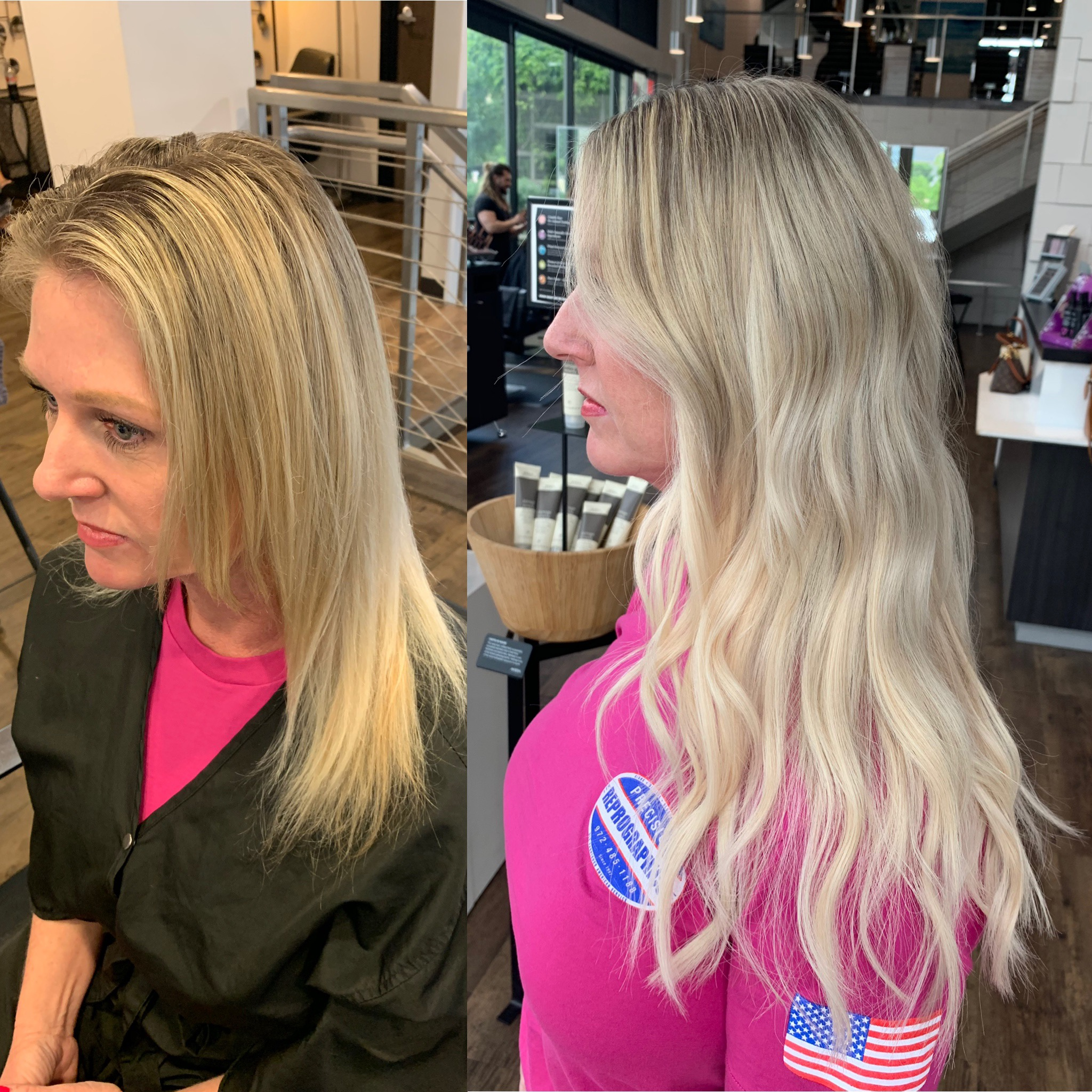 Madelyn Lindley Dallas Hairstylist Vomor Extensions