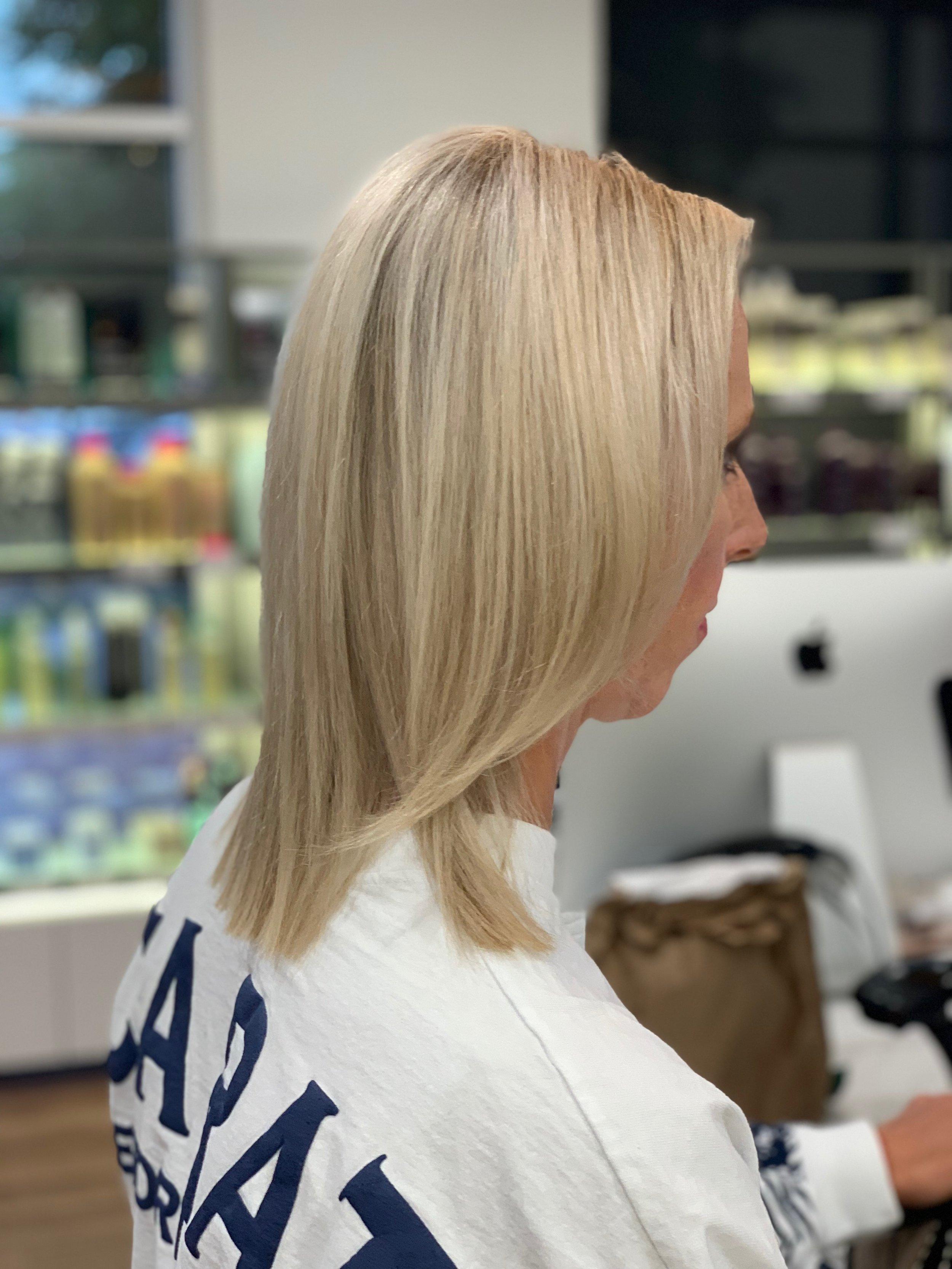Terron Harrison Highland Village Hairstylist Blonde