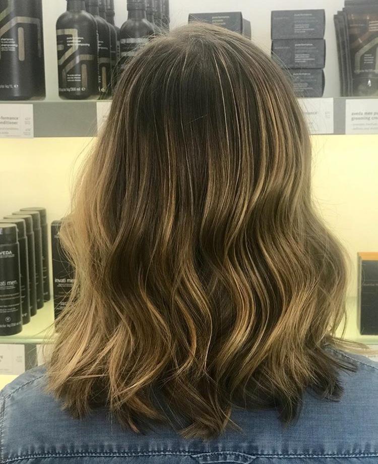 Brooke McCallon Frisco Hairstylist Brunette Balayage