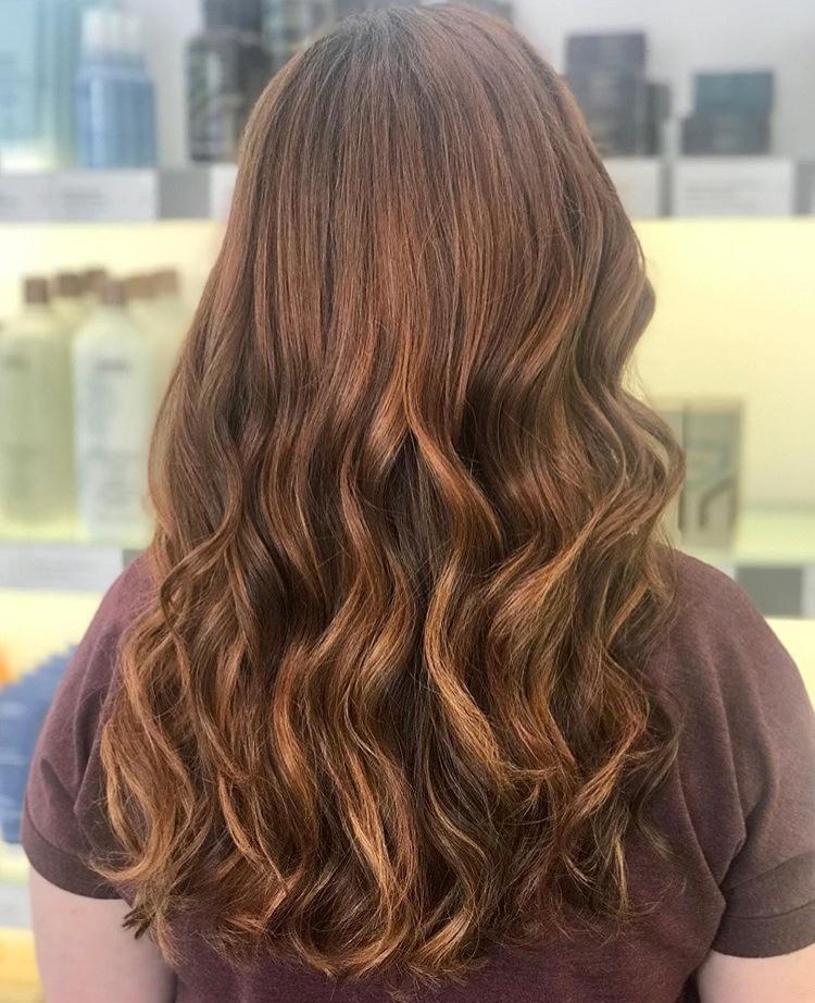 Brooke McCallon Frisco Hairstylist Red Balayage