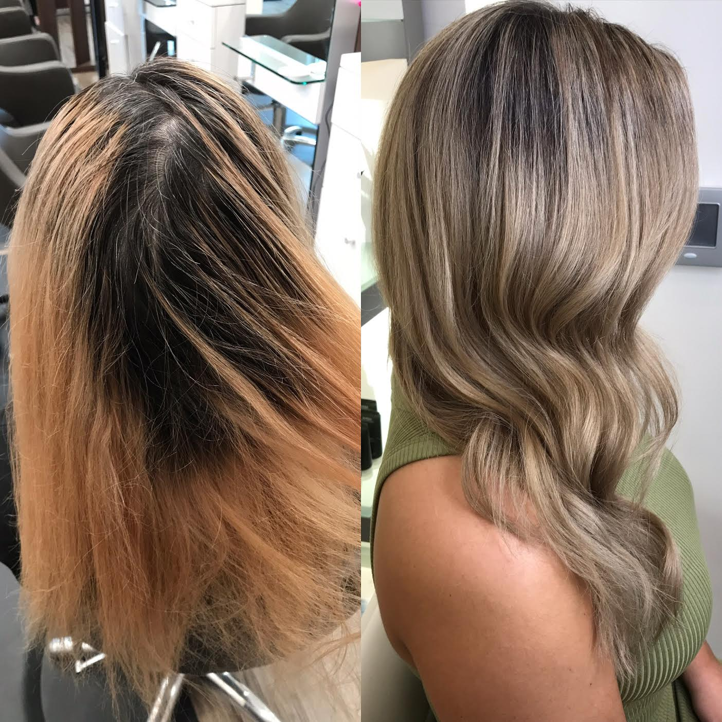 Kari Wawrzonek Frisco Hairstylist Transformation Highlights