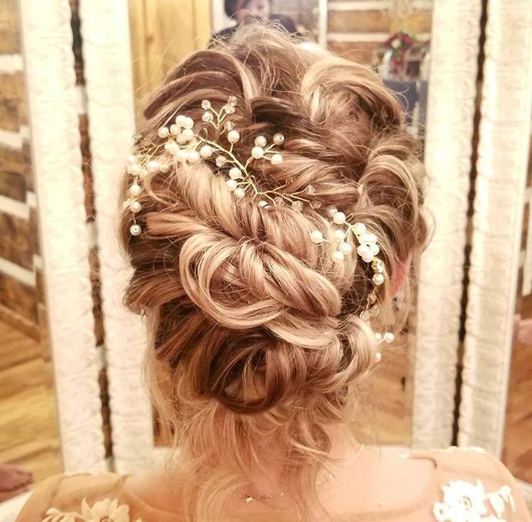 Sarah Heng Dallas Stylist Bridal Updo