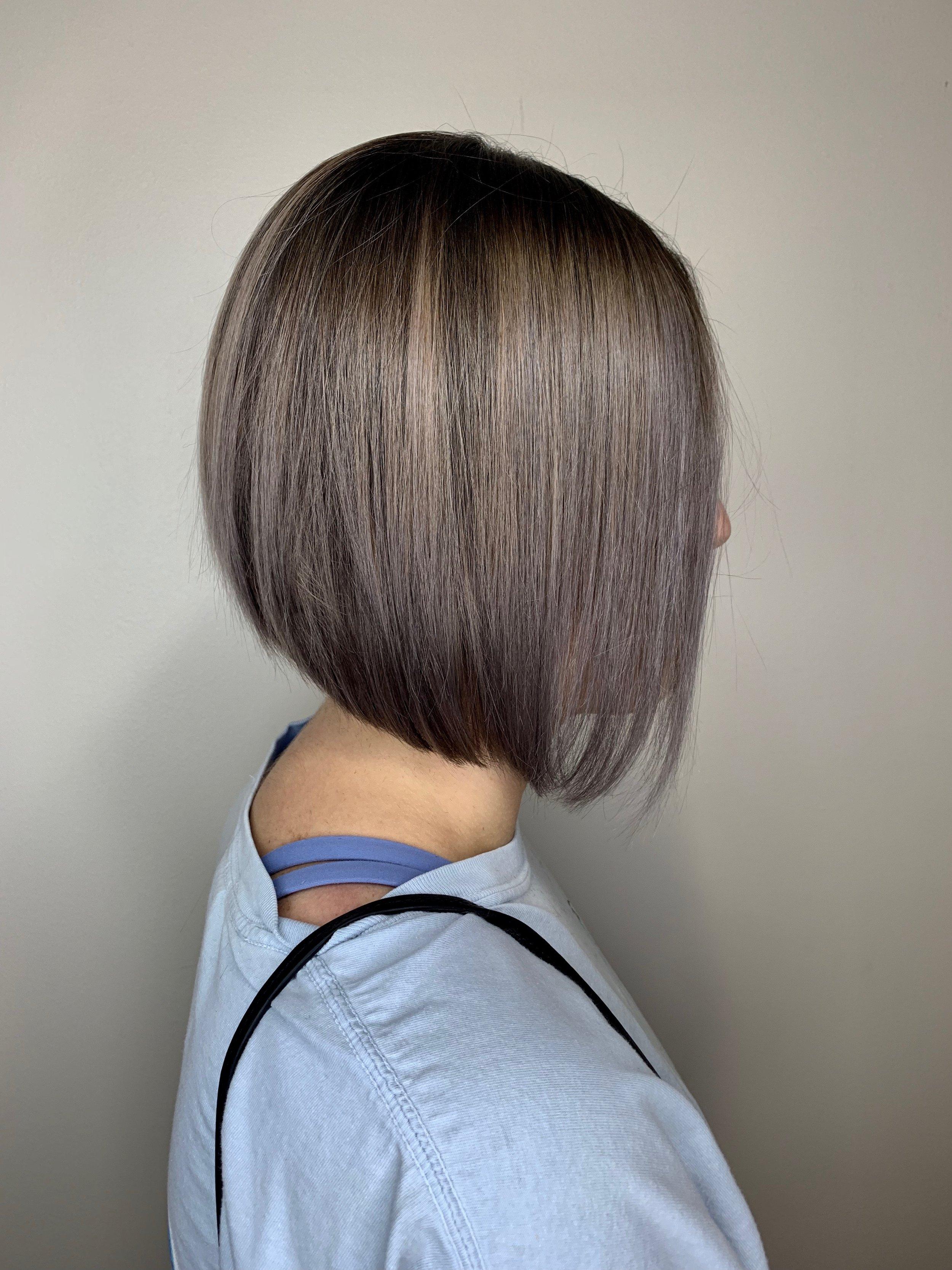 Adrian Franco Coppell Hairstylist Brunette Bob