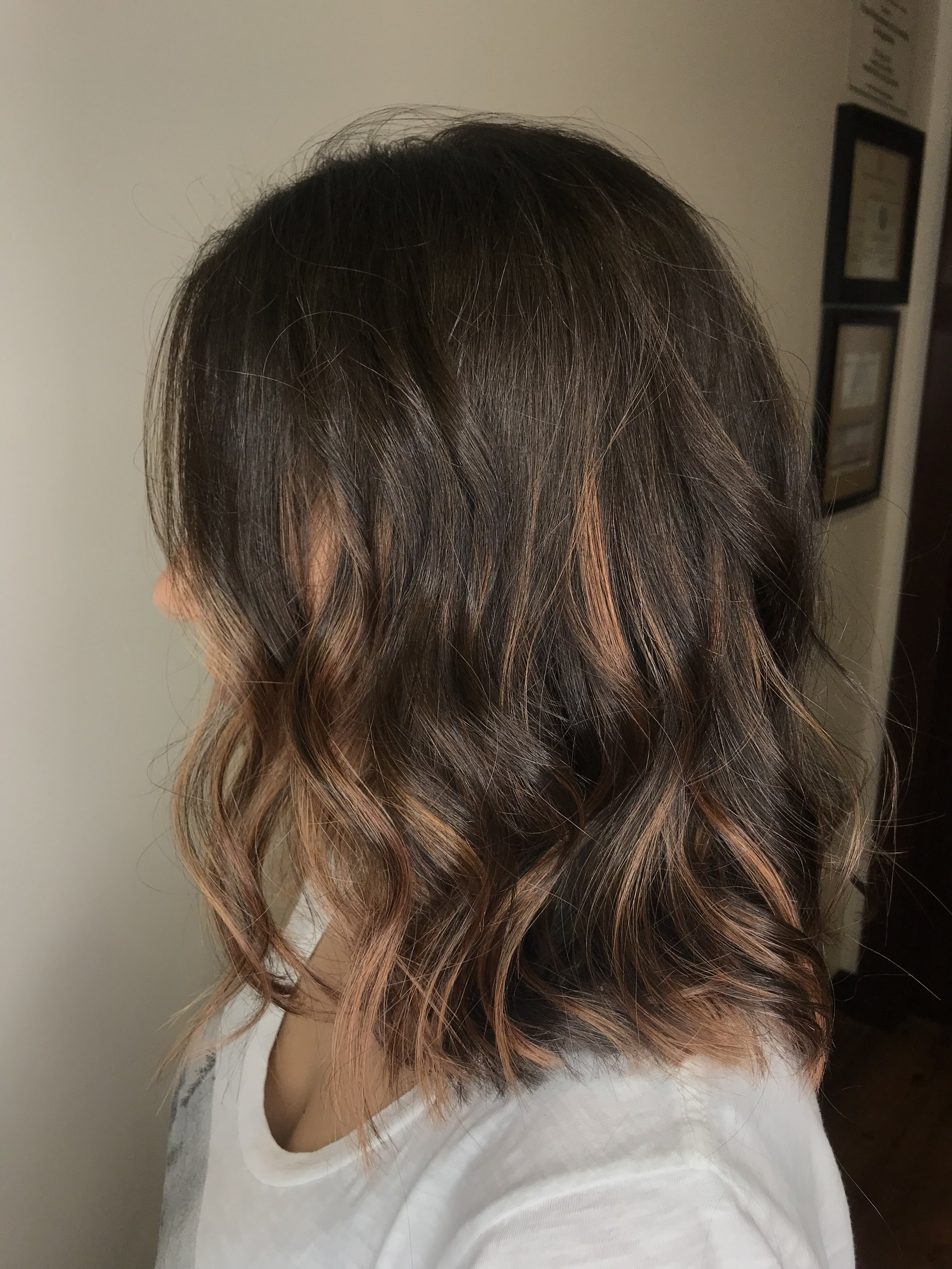 Adrian Franco Coppell Hairstylist Red Balayage