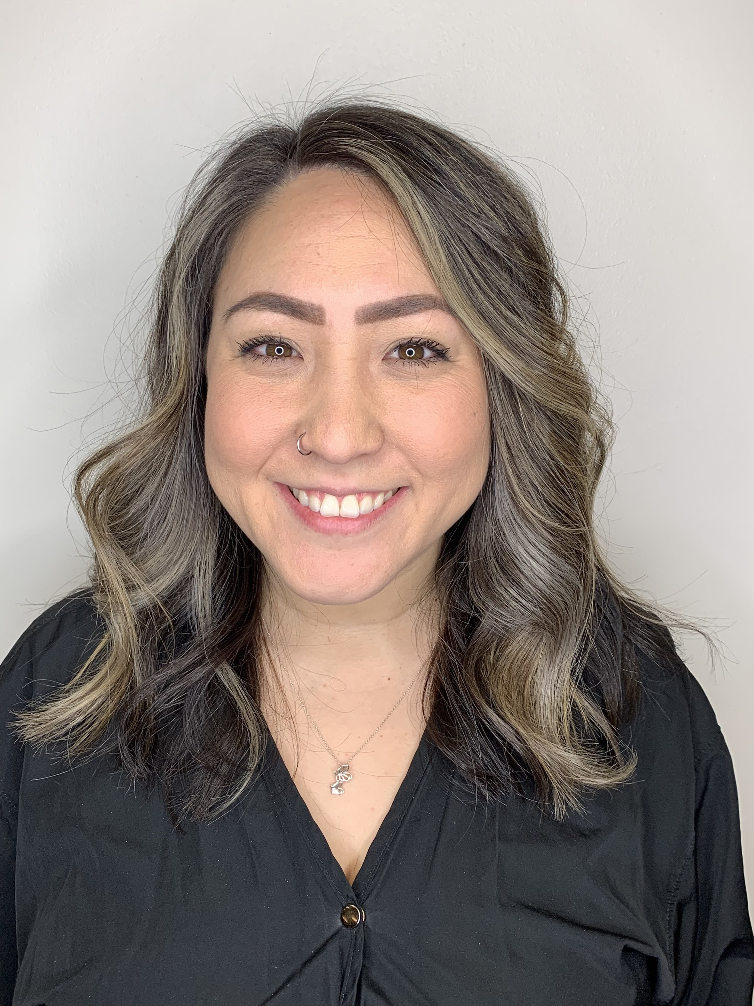 Adrian Franco Coppell Hairstylist Brunette Highlights