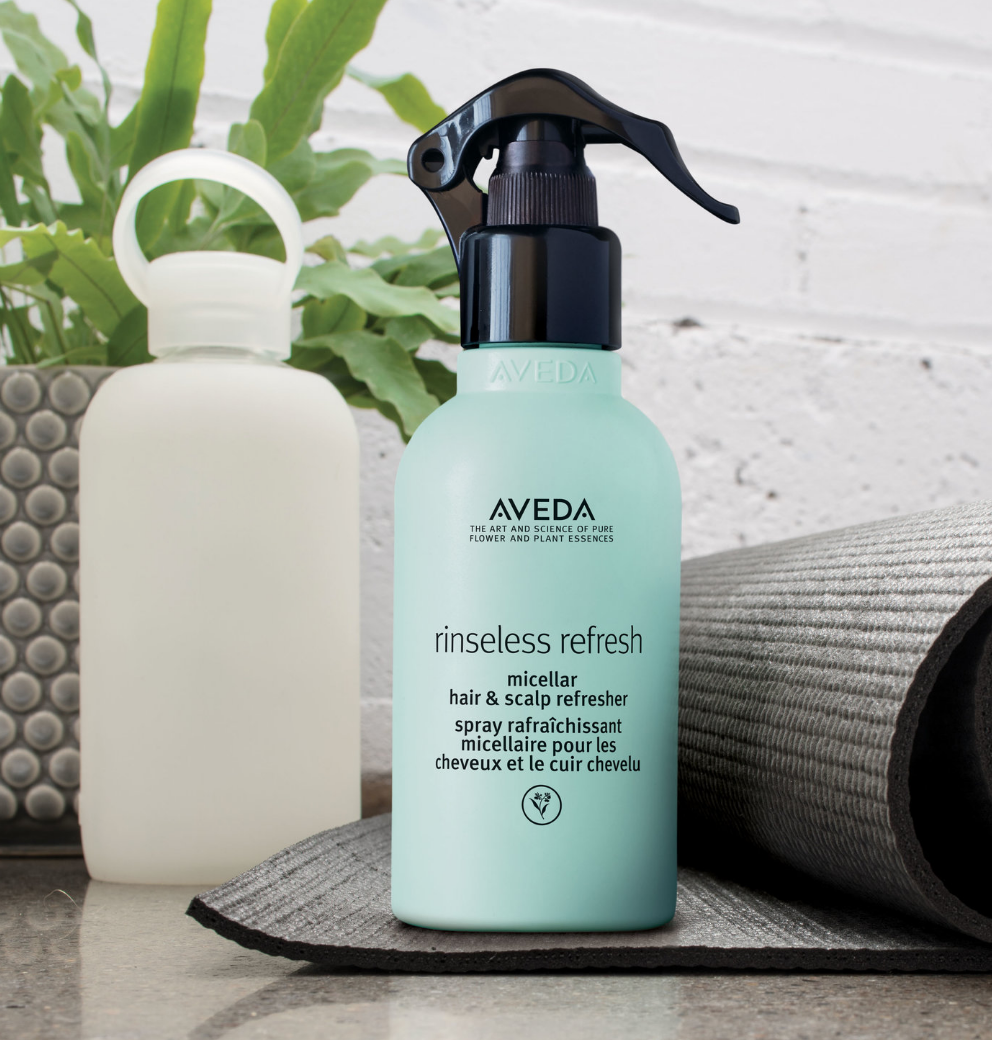 Second Day Refresher - Aveda Rinseless RefreshPerfect for those days you hit the snooze one too many times. Instantly cleanse scalp and refresh hair and texture. This hair & scalp refresher revives and refreshes second-day styles with naturally derived styling polymers that help tame frizz for up to 72 hours – even in intense humidity!