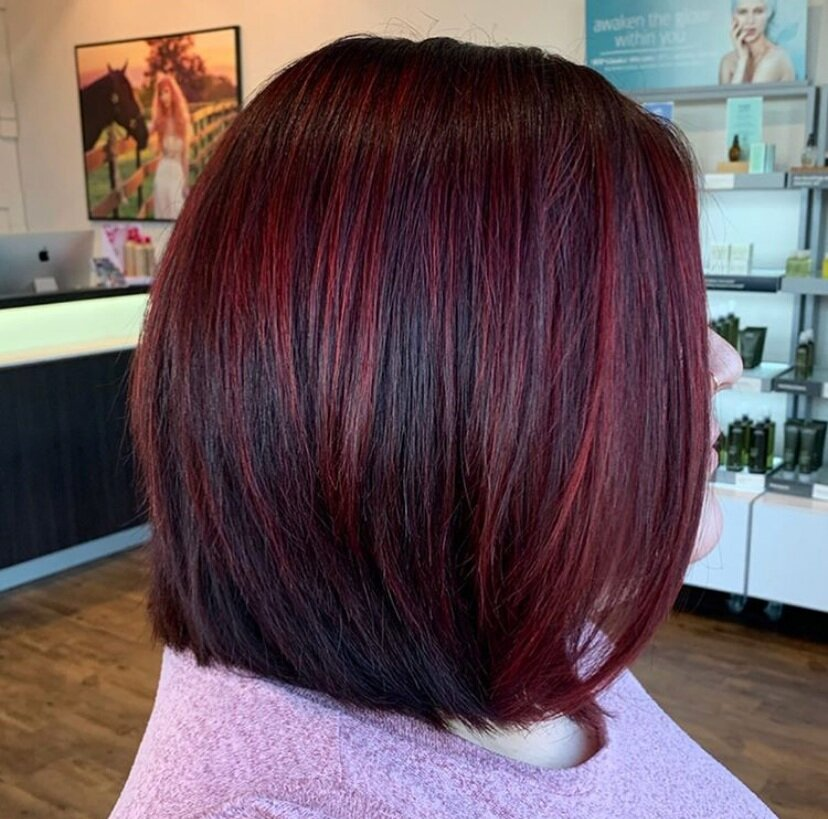 Pop of Red -