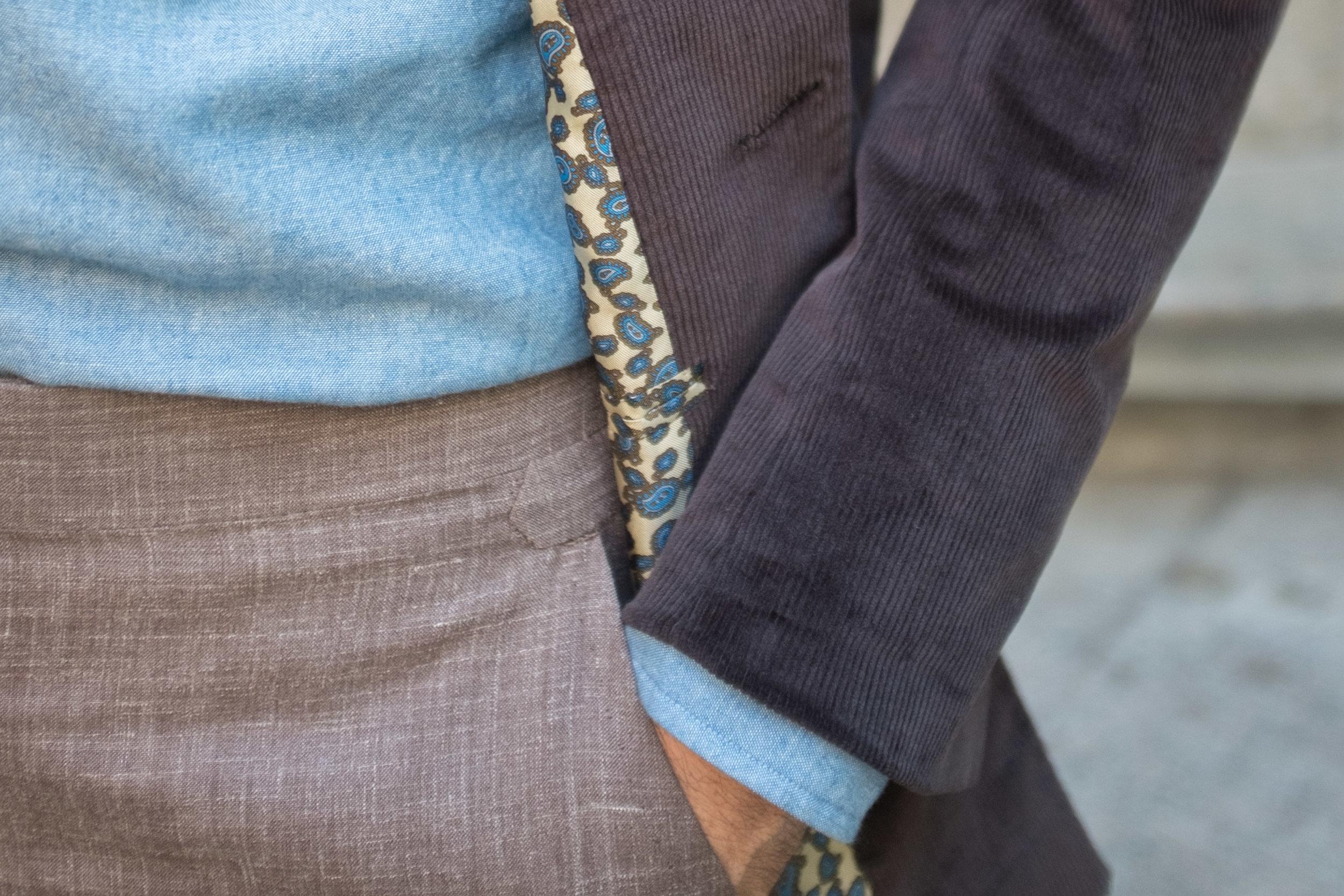 Cord Slack Jacket Textures