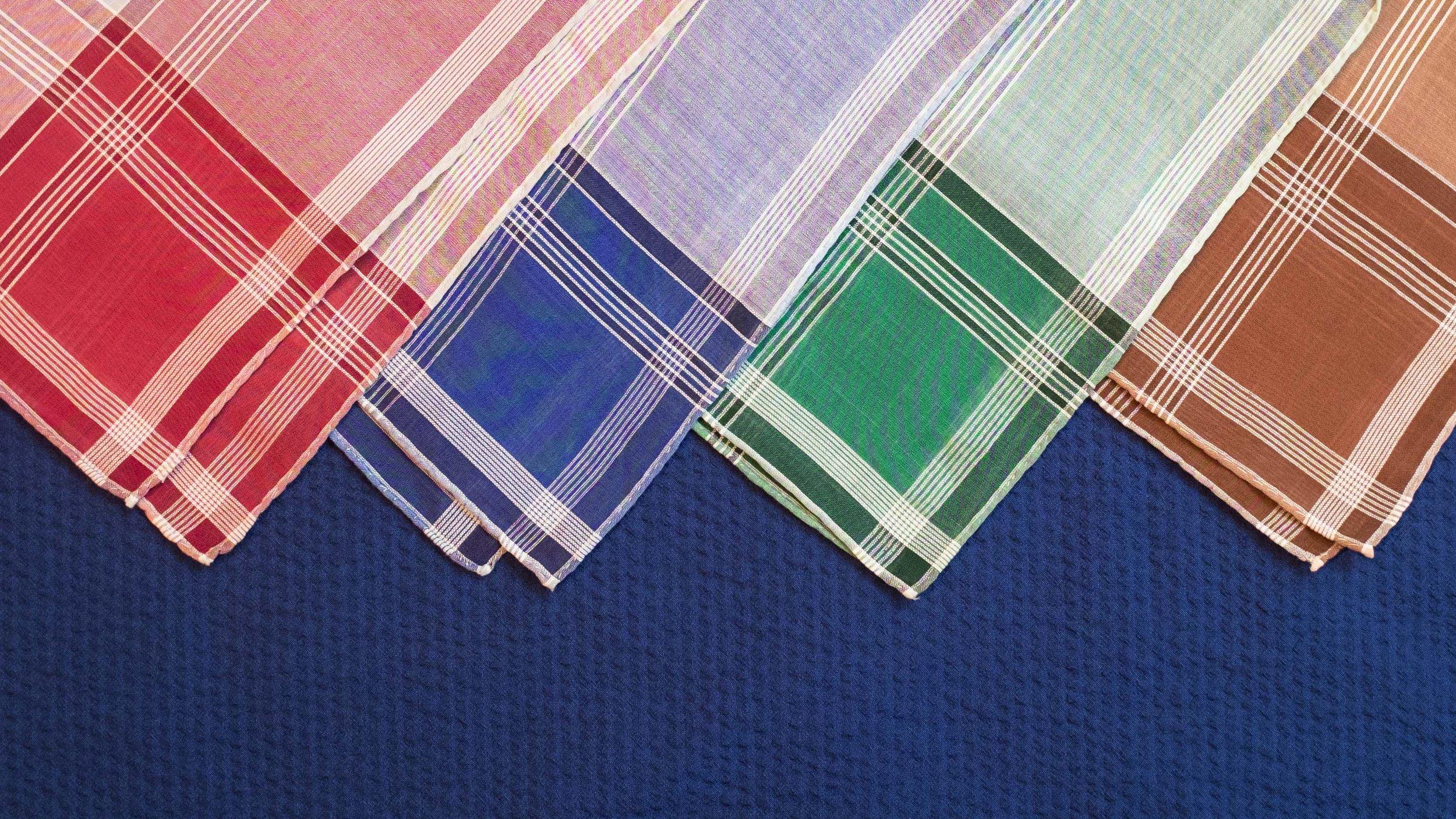 All Vintage Pocket Squares