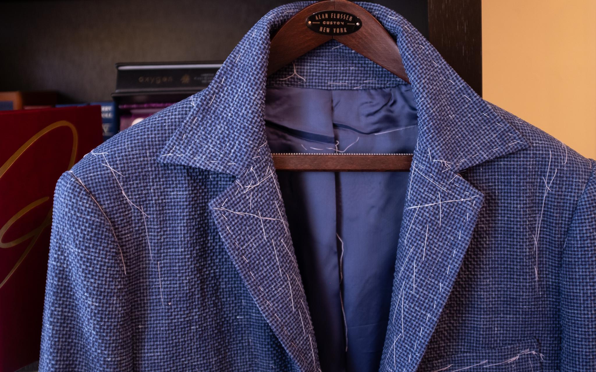 Seersucker slack jacket
