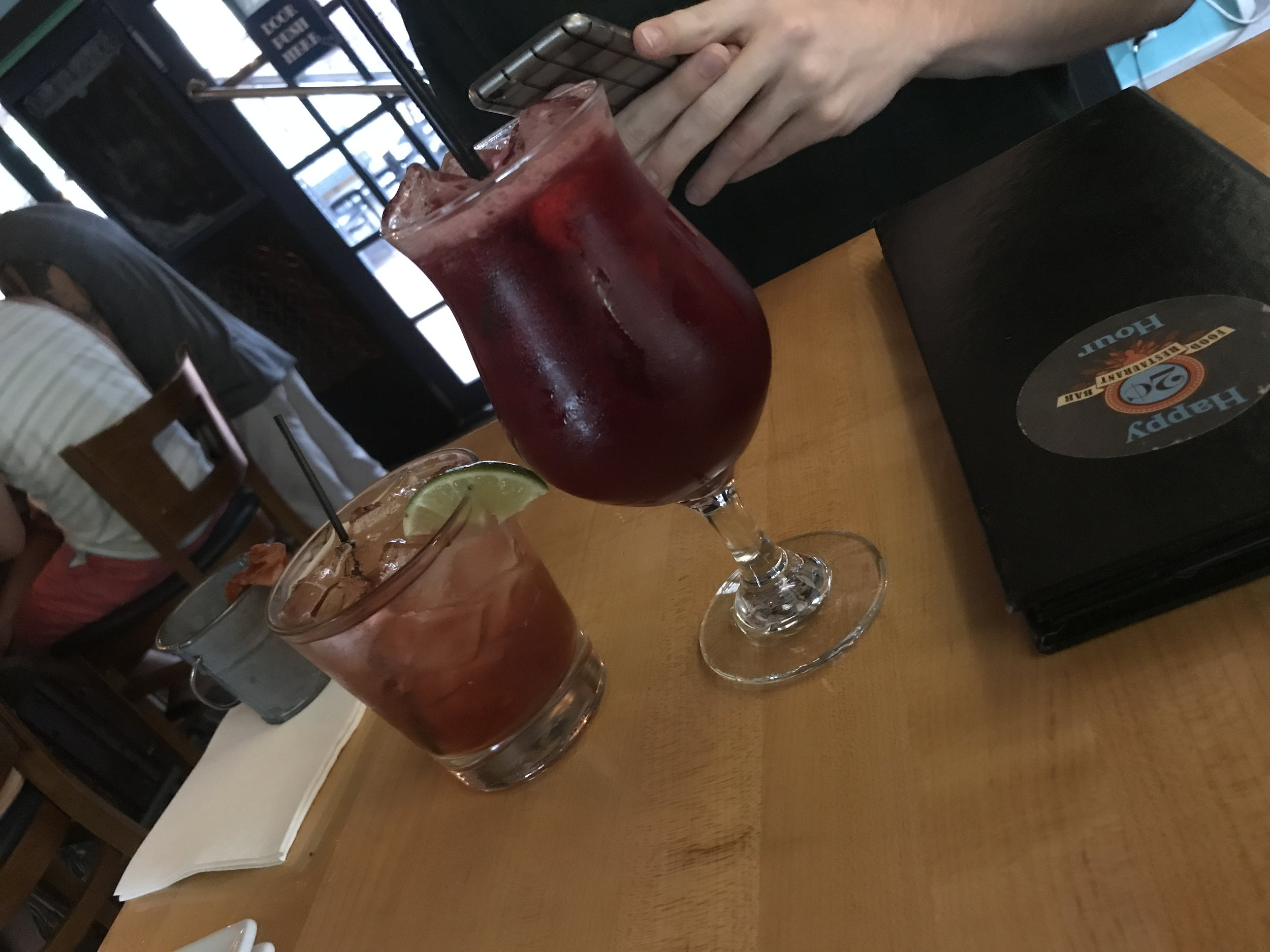 Our Drinks!