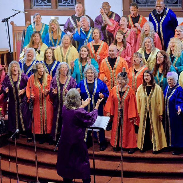 We're hiring! Our beloved interim director, Kristin Kirby, agreed to direct our choir for one season, but we need to find someone new for the fall. We're looking for a dynamic person who has experience directing and/or conducting a vocal music organization, training and knowledge in vocal music, experience working with musicians in a band setting, and familiarity with black gospel music. Follow link in bio for full job description.  #musicdirector #choirdirector #hiring #arcata #interfaith #gospelchoir #humboldt #jobs #employment #parttime #choir #chorus #director #joyfulnoise #spiritandtruth
