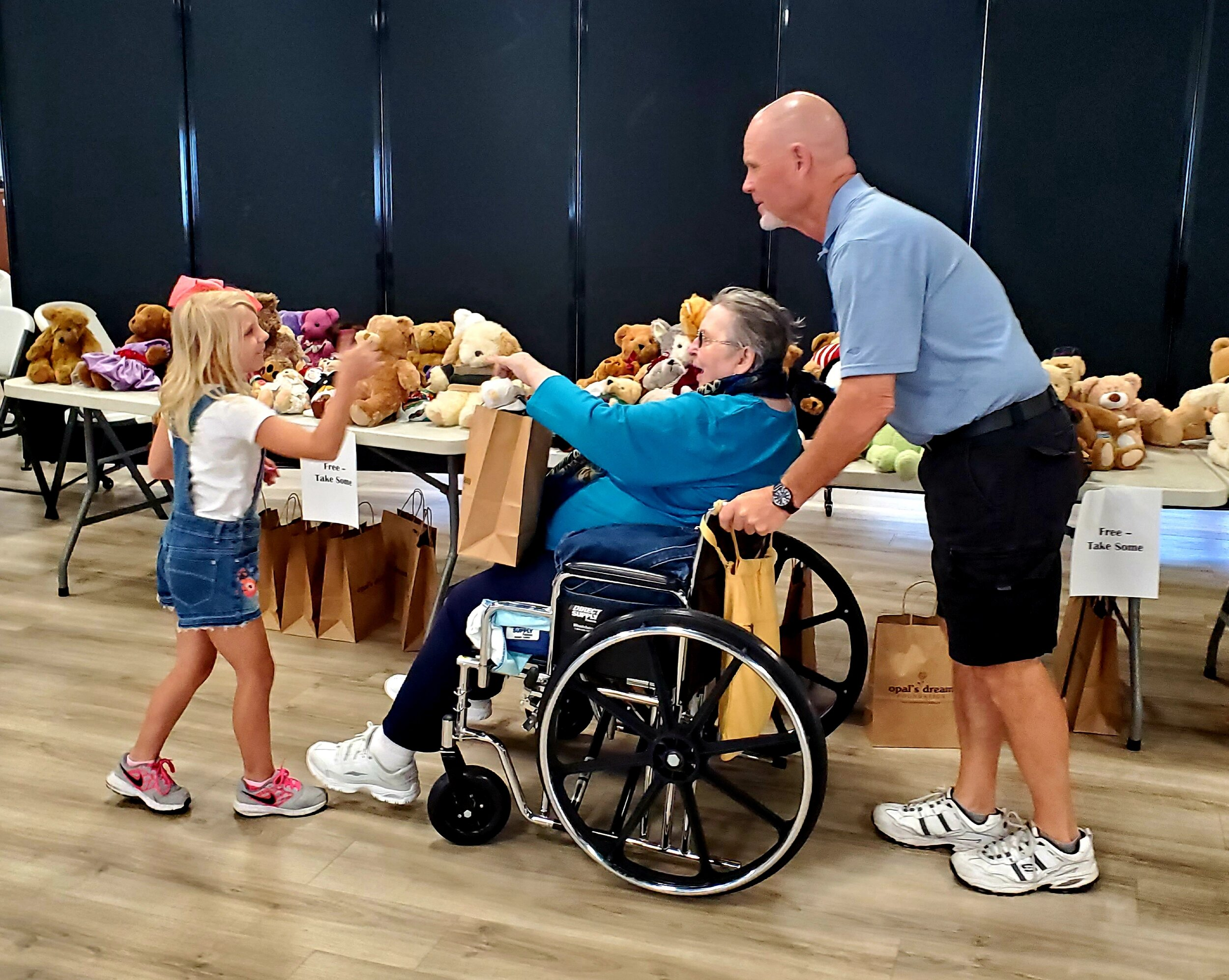 Board Member Jeff Healey enjoys working directly with seniors, and has quickly become an asset in the communities we serve.