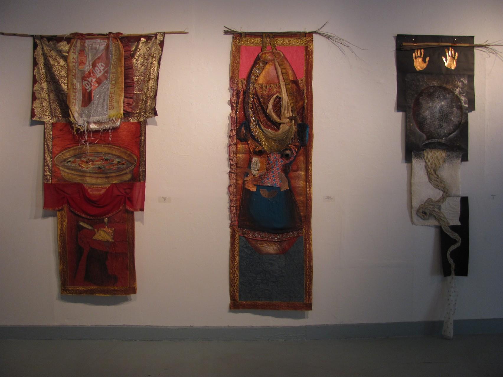 Three Wall Hangings