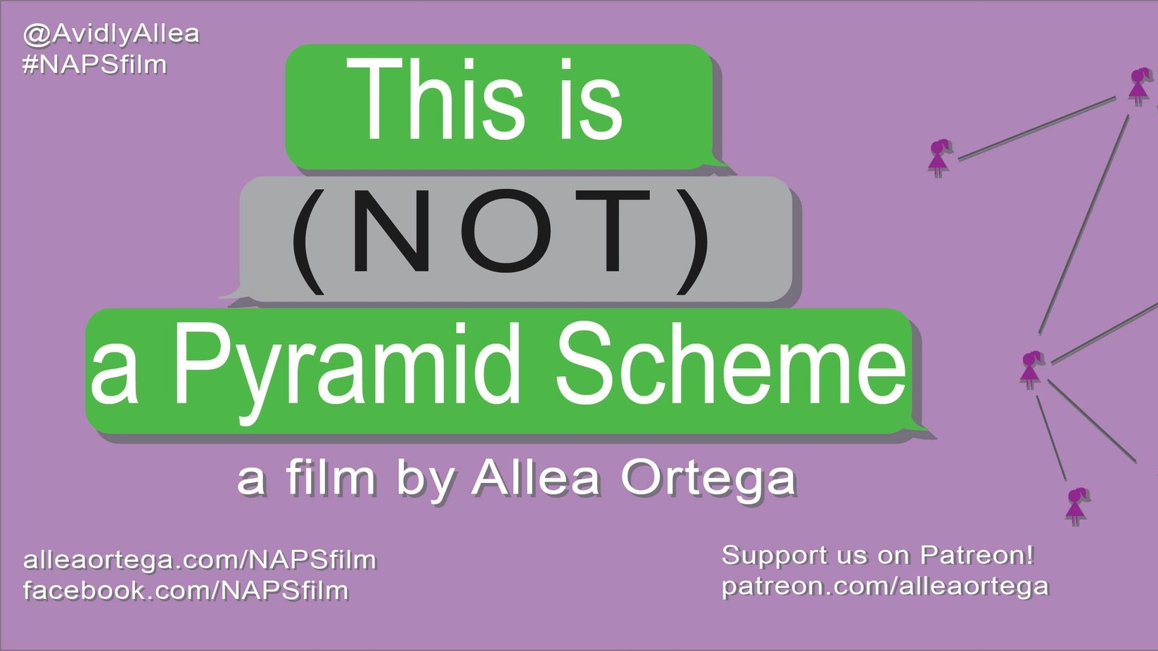 This is (NOT) a Pyramid Scheme - This documentary explores multilevel marketing in America through the eyes of the women who participate in it. Both critical and optimistic, this film seeks to provide a balanced representation of the topic while exploring the underlying truths that unite these women. SUPPORT ON PATREON patreon.com/alleaortega