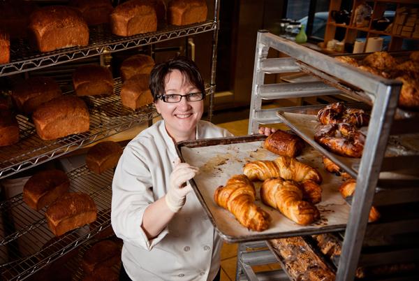 Maria Brennan operates The Victorian Bakery.