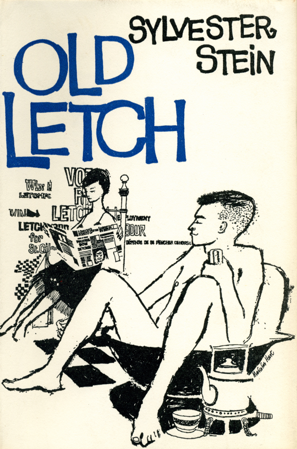 The Faber cover for Old Letch, designed by his friend Malcolm Hart.