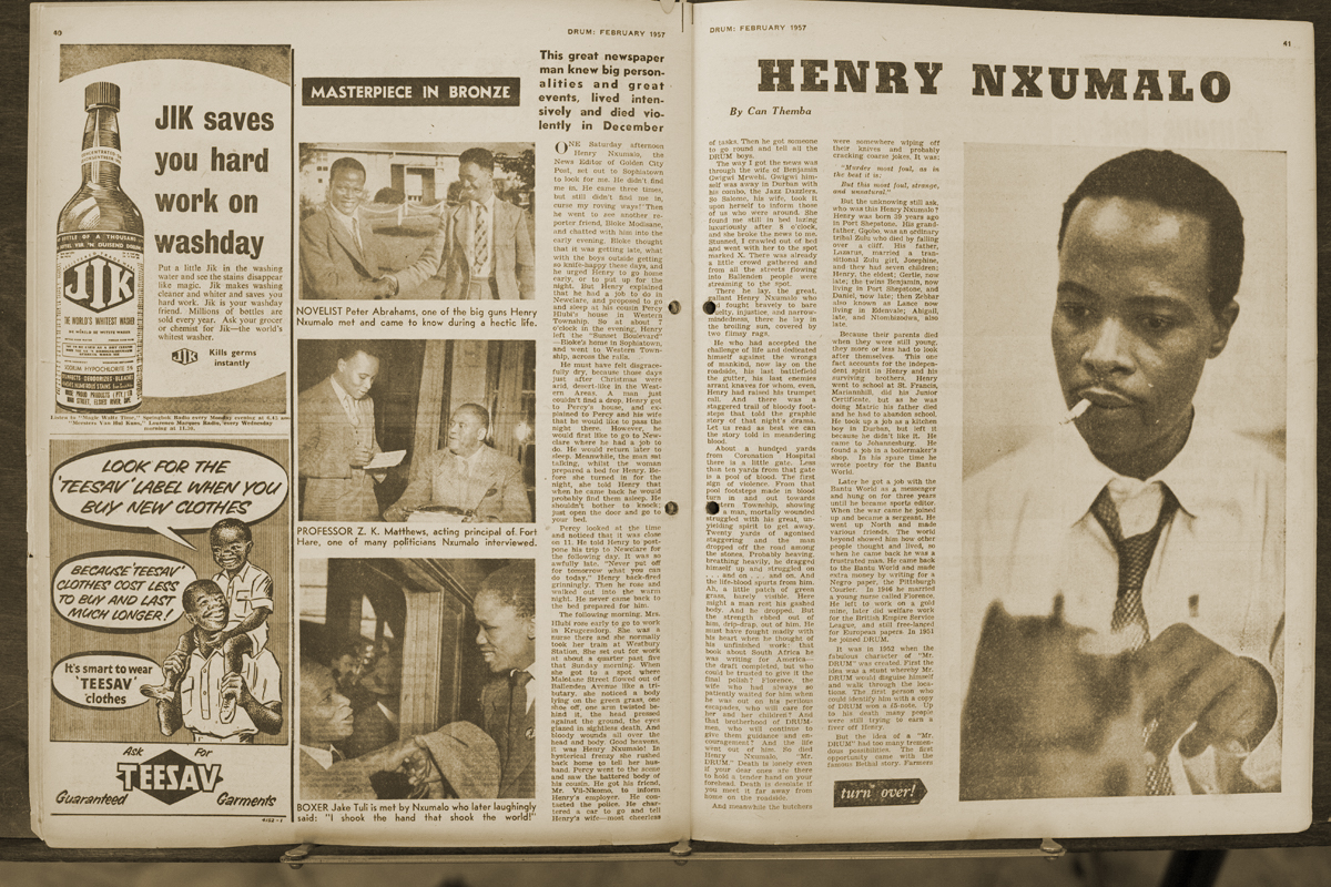 Image result for henry mr drum nxumalo""